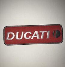 Ducati iron on/ Sew on Patch Biker Motorcycle