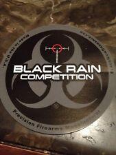 BLACK RAIN COMPETITION LOGO DECAL STICKER FIREARM GUN AR 15 MANUFACTURER L@@K