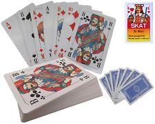 48x Skatkarten / 32 Blatt Skat Karten Spielkarten Karneval Wurfmaterial Fasching