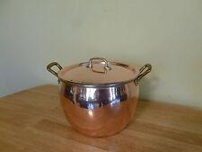 Ruffoni Historia 8 Quart Copper Stock Pot with Lid