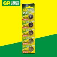5Pcs GP CR2032 3V Coin Button Cell Battery DL2032 PCR2032