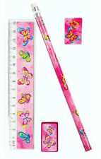 6 Butterfly Stationery Sets - Pinata Toy Loot/Party Bag Fillers Wedding
