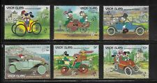 HICK GIRL- MINT ST. VINCENT STAMPS    DISNEY   MICKEY'S  DRIVING CARS      T233