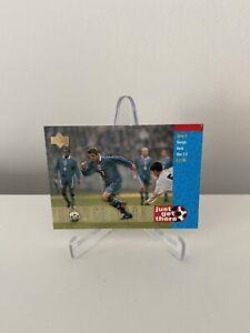 England Upper Deck 1997 Beckham Rookie France 1998 Just Get There #41 Card