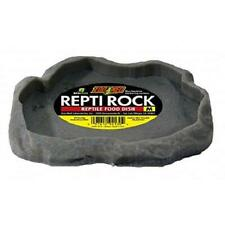 "Zoo Med Reptile Rock Food Dish(colors may vary) 7.25""l x 6""w x 0.75""h"