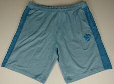 Rocawear Men Size 3XB Regal Blue Knit Drawstring Embroidered Logo Shorts I2