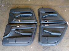 Audi C5 A6 S6 allroad OEM Black Leather Door Card Set