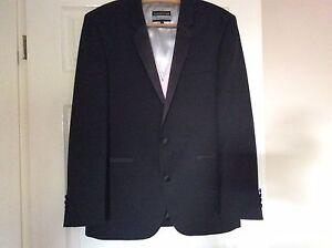 Men's Black Dress Jacket & Waistcoat, Size Small