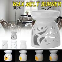 White Ceramic Granule Oil Burner Melt Wax Warmer Diffuser Candle Aroma Aromatize