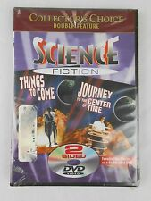 Science Fiction Things Come, Journey to the Center of Time 2 Sided DVD NIP NEW