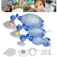 Adult/Children CPR Resuscitator Rescue Mask,CPR Face-Mask,Air Bag,Breathe Ball