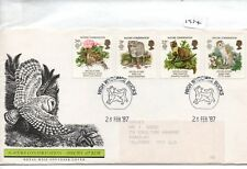 GB - FIRST DAY COVER - FDC - (1974) SPECIALS - 1987 - Nature NOT fdc - H Wycombe