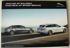 Jaguar . XF . XF Saloon and new XF Sportbrake . 2018 Sales Brochure