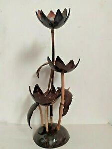 Ceylon Natural Coconut Shell Flower Tree Handmade 100% eco-friendly Sri Lanka
