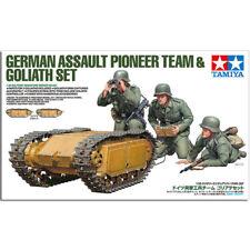 TAMIYA 35357 German Assault Pioneer Team & Goliath Set 1:35 Military Model Kit