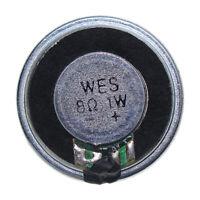 8 Ohm Micro Internal Speaker Magnet Loudspeaker 25mm Dia Round Shell DIY