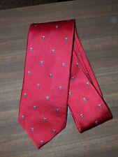Izod Silk Tie Christmas tie gift party holidays Santa red new