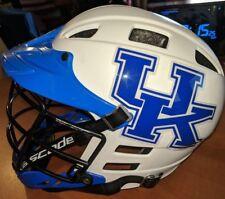 Kentucky Wildcats NCAA College Lacrosse CASCADE White Blue Helmet Men's(M/L)
