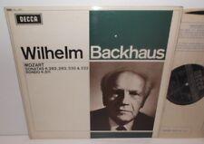 SXL 6301 Mozart Sonatas Wilhelm Backhaus ED2 WBG