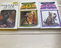 Lot of 3 Vintage SciFi Norman GOR~Nomads~Priest Kings~Marauders ~O~