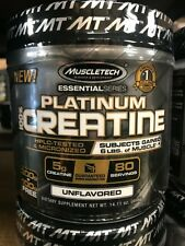 MuscleTech Platinum Creatine Ultra Pure 400 Grams Unflavored Fast Free Shipping