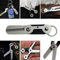 Outdoor Survival Pocket EDC Edelstahl Anti-verlorene Schlüsselanhän Scissor L2L0