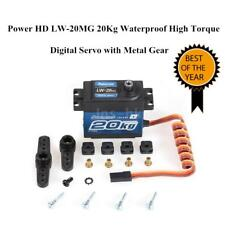 Power HD LW20MG 20Kg Servo Digitale Ad Alta Coppia Impermeabile RC 1/10 Car P5A6