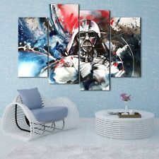 Darth Star Wars Painting 4PCS HD Canvas Print Home Decor Room Wall Art Picture