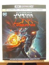 Justice League: Dark Apokolips War (4K Ultra+Blu-Ray+Digital) New* W/Slipcover