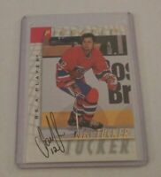 DARCY TUCKER - 1998 BE A PLAYER PINNACLE - AUTOGRAPH - CANADIENS -