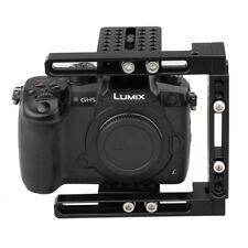 DSLR Camera Cage Stabilizer Dual-use Adjustable C-Frame kit for Canon 80D GH5