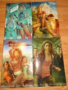 Buffy Complete Season 8 HC Library Editions Vols. 1-4 Rare & O/P Dark Horse