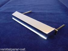 50er Jahre Design Schubladengriff Aluminium Griff für Schublade verchromt.