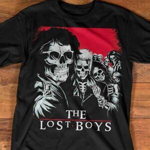 The-Lost-Boys T-Shirt Movie Lover Film Anniversary Vintage Skull Art Unisex Tee