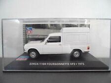 1/43 .  SIMCA 1100 Fourgonnette VF2 de 1975      IXO
