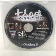 Seven Samurai 7 20Xx - Playstation 2 Ps2 Tested. Disc Only. Free Shipping