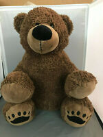 "Rare 16"" Dan Dee Collectors Choice Teddy Bear Brown Plush Stuffed Animal Soft"