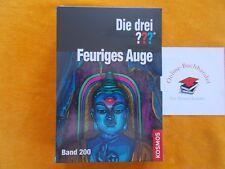 Die drei ??? Fragezeichen-Feuriges Auge-Jubiläums-Band 200 als Erstausgabe (VQ)