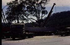 35mm Colour Slide- ERF Truck Tractor with Bridge beam, Australia 1970's