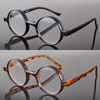 New Black Tortoise Round Oval Reading Glasses Readers John Lenon Harry Potter