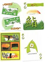 SUSHI DECK OF PLAYING CARDS