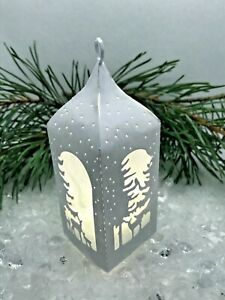 Make Winter Woodland Christmas Lanterns from Die Cuts Choose your Kit Card