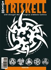 INSPIRE UK TB228  TRISKELL SYMBOLS TATTOO FLASH ..UK STOCKIST