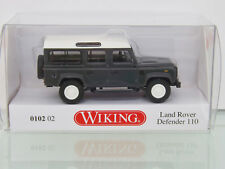 WIKING 010202 - H0 1:87 - LAND ROVER DEFENDER 110 - Keswick Verde - NUOVO IN