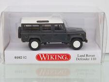 WIKING 010202 - H0 1:87 - Land Rover Defender 110 - KESWICK Vert -