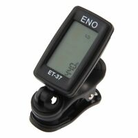 ENO Tuner with clips for Guitar Bass Violin Chromatic 360 degree turn S3F9 W3K0