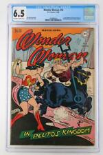 Wonder Woman #16 - CGC 6.5 FN+ DC 1946 - Madame Curie Feature!