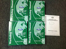 2008 Ford F-250 F-350 F450 550 TRUCK Service Shop Repair Manual Set FACTORY NEW