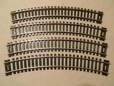 "Atlas HO Scale 15"" Radius Code 100 Curve Track 4 Pack Brand New #151"