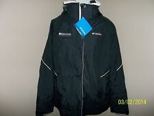Brand New COLUMBIA Transquip/Black/ Ladies, Large Waterproof/Winter Jacket/Coat